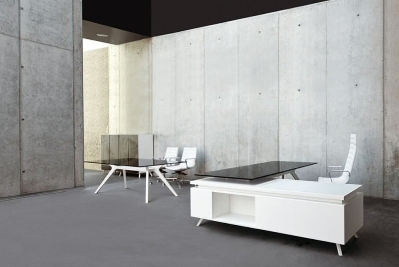 Designertisch, Designchefzimmer, Imac Schreibtisch, Schreibtisch Weiß,  Apple Bürotisch, Designchefzimmer, Designschreibtisch