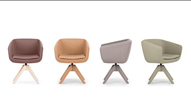 Design Konferenzstuhl, Konferenzsessel, farbige Besucherstühle, Konferenzpolsterstuhl, Besuchersessel München, Design Besuchersessel
